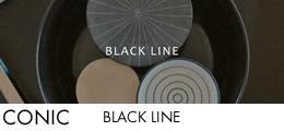 CONIC BLACK LINE バナー
