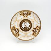銘々皿・JA古伊万里草花紋・ゴールド