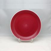 平皿(小)・JAワインレッド