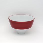 飯碗(茶碗)・ワインレッド
