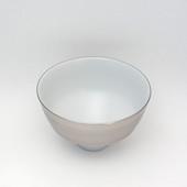 段付飯碗(茶碗)・プラチナ