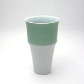 段付フリーカップ・パールグリーン