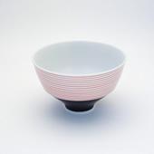 飯碗(茶碗)・下錆千段/赤