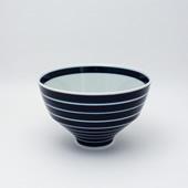 飯碗(茶碗)・独楽筋・呉須