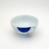 飯碗(茶碗)・水玉・青