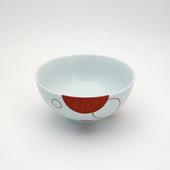 飯碗(茶碗)・水玉・赤