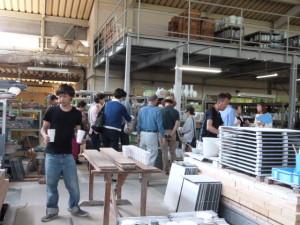 韓国のお客様 アリタポーセリンラボ工場見学